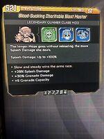 Xbox Borderlands 3 Blast Master (Best Roll) INSANE