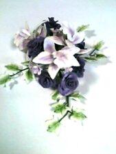 LILLA Rose e Orchidea Fiore di zucchero Spray