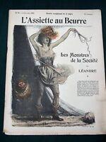 L'Assiette au Beurre # 79 French 1902 Art Magazine- Les Monstres de la Société