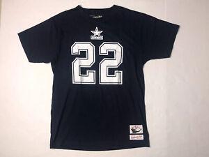 Mitchell Ness Emmitt Smith Dallas Cowboys NFL Men's Short Sleeve Player Tee L