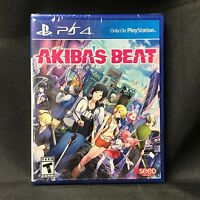 Akiba's Beat (Sony PlayStation 4, 2017) BRAND NEW / Region Free