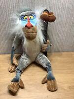 Disney The Lion King Plush Large 14 Inch Soft Toy Rafiki Baboon Monkey Rare