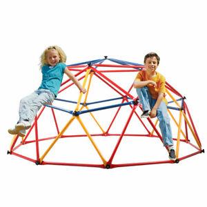 Kids Geometric Play Jungle Gym Dome Colorful Climber Playground Monkey Bars