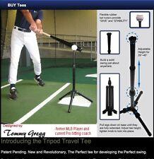 Baseball Tripod batting Tee, tripod hitting tee/ training aid by Tommy Gregg