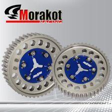 Protege MX5/BP6/BP/NB6/8 Adjustable 2 Piece Aluminium Shaft Cam Gear Timing Blue