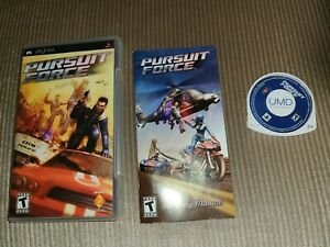 Pursuit Force (Sony PSP, 2006) Complete and works