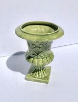 Planter Vintage Green Ceramic Urn Planter Vase Pen Holder Decorative Accent