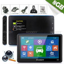 XGODY 8GB 5 Inch GPS SAT NAV Free AU EU 3D Lifetime Maps Touch Screen Navigator