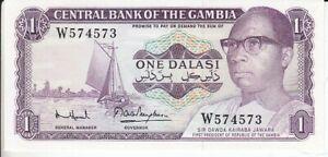 Gambia  1 Dalasi      kassenfrisch