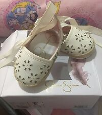 Preloved - Jessica Simpson Kids - Emma (Infant/Toddler) (White) Girl's Shoes