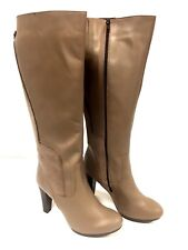 Bottes femme Cuir Marron Taupe Pascal Morabito Taille 41 FR/ 10 US