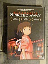 Spirited Away (Dvd, 2003, 2-Disc Set, Rumi Hiiragi, Miyu Irino, Mari Natsuki)