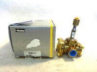 NEW IN BOX PARKER 74332BN4UNJ1 SOLENOID VALVE LESS COIL 3-WAY