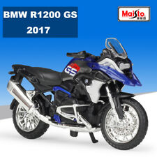 BMW R1200 GS 2017 Maisto 1:18 Scale Motorcycle Model Diecast Bike Toy Collection