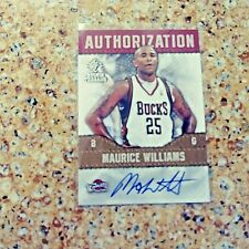 2008-09 ROOKIE THREADS AUTHORIZATION AUTOGRAPHED ,RC MO WILLIAMS BUCKS,NM+
