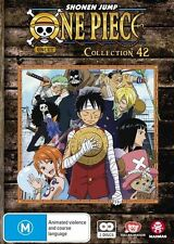 One Piece (Uncut) Collection 42 (Eps 505-516) - Luffy NEW R4 DVD