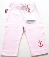 Sweat Hose Gr.56 /62 Volltreffer NEU 100% Baumwolle Anker rosa maritim baby