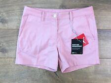 Puma DryCell Girls Golf Shorts Bridal Rose Pink Youth L ( 579315 04 ) NEW!