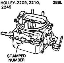 Carburetor kit for International Truck 1963 -1980 1981 8cyl. Holley 2bbl.