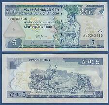 Etiopia/Etiopia 5 etiopico 2006 UNC p.47 D