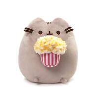 "GUND Snackable Pusheen Popcorn Snack Cat 9.5"" Stuffed Animal Plush"