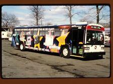 Original Slide Bus, Liberty Lines Yonkers Ny 3009, Kodachrome 1996
