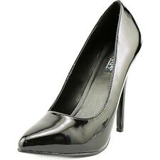 Devious by Pleaser Domina-420 Classic Pump Women's Black UK 2