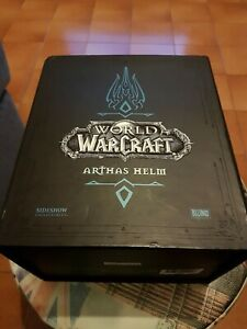 Arthas Helm Sideshow World Of Warcraft Edtion Limited 002