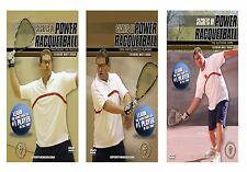 Secrets of Power Racquetball featuring Marty Hogan (3 DVD Set) - Free Shipping