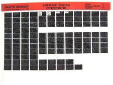 Honda CR125 CR125R 1981 1982 1983 Parts List Catalog Microfiche a482