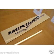 FLEETWOOD Meridien Caravan Name & Flash Sticker Decal Graphic - SINGLE