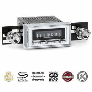 1958-60 Chevrolet Corvette RetroSound Laguna Radio AM/FM AUX RetroRadio Stereo