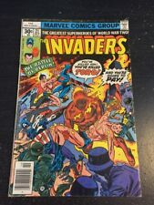 Invaders#21 Awesome Condition 5.5(1977) Toro Death , Wow!!