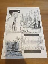 More details for 2000ad original comic art missionary man alex ronald