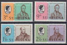 St. Helena 1968 ** Mi.192/95 Abschaffung Sklaverei End of slavery [sq5967]