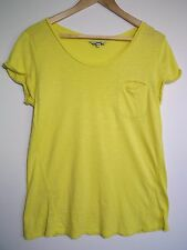 Jag Women's Yellow Short-Sleeve T-shirt Top - Size XS
