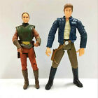 """3.75"""" Star Wars - Attack of The Clones Padme Amidala & HAN SOLO Action Figure"""