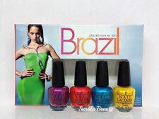 OPI Nail Lacquer - BRAZIL - BEACH SANDIES Mini Collection 4pcs x 1/8oz