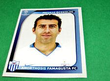 46 OCOKOLJIC FAMAGUSTA CYPRUS UEFA PANINI FOOTBALL CHAMPIONS LEAGUE 2008 2009
