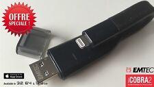 EMTEC ICOBRA2  64 Go cle USB 3.0 /  Lightning iPhone 5/5s/5c/6/7/8/X OTG