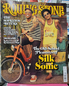 ROLLING STONE MAG-SEPTEMBER 2021-THE OLD-SCHOOL PLEASURES OF SILK SONIC-IN STOCK