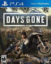 PLAYSTATION 4 VIDEO GAME DAYS GONE BRAND NEW SEALED USA VERSION - US SELLER