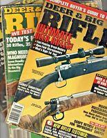 Deer and Big Game Rifles Magazine 1991, 1995 & 2002 Lot of 3