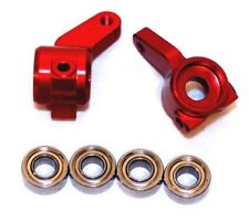 STRC Red Oversized Aluminum Front Steering Knuckle ST3636R