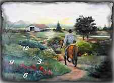 Cowboy Going Home wall clock (Great Man Cave Wall Clock)  They make gr8 gifts