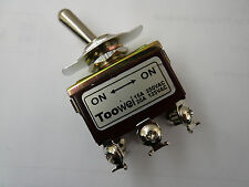 SB3 1pc Toggle Switch H.D. DPDT (On)/(On) 15A 250VAC / 20A 125VAC 702/BW, toowei