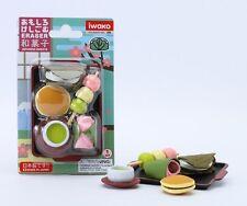 Food Iwako Japanese Eraser Japanese Sweet Dessert Gift Card Set #38337