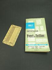 Catalogue Yvert et Tellier  1967 Timbres de france Tome I  T.B.E.