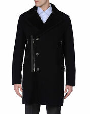 Lanvin Quilted Three-Quarter Length Sheepskin Coat size Small Dior Homme