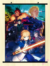 Fate/stay Night Fate Zero Saber Home Decor Anime Japanese Poster Wall Scroll
